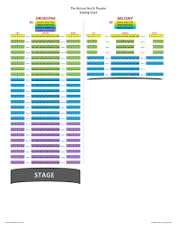 Virginia Theater Seating Chart The North Theatre Danville Virginia Seating Chart