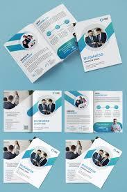 Design Corporate Bifold Brochure Design Corporate Identity Template