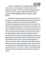example of a literature essay co example