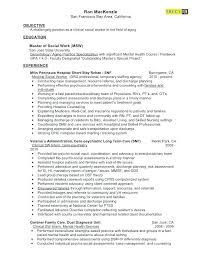 Social Worker Resume Here Are Case Worker Resume Clinical Social