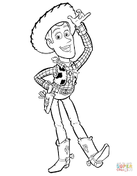 sheriff woddy say hi coloring page toy story coloring pages free coloring pages on woody toy story coloring pages
