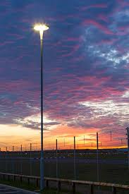 rail lighting system airport. led car park lighting london southend airport orion rail system