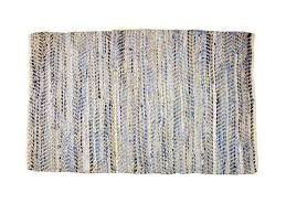 recycled denim jute rug all natural leather rugs hong kong home essentials central hk