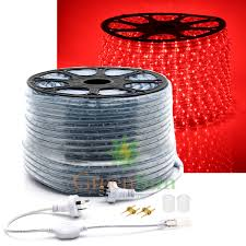 2 Wire Led Lights Us 56 99 25 Off Red 20 50m M36 Leds M 2 Wire Led Strip Rope Light Waterproof Ip68 Home Garden Xmas Lamp Led Strip Light With Power Line In Led