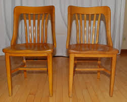 Kitchener Furniture Tribute 20th Decor 1940s Oak Office Chairs