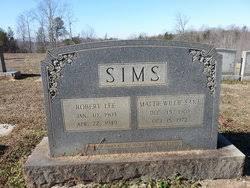 Robert Lee Sims (1903-1949) - Find A Grave Memorial