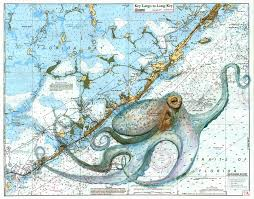 Paintings On Nautical Charts Nautical Chart Paintings Archives Dive Documentaries