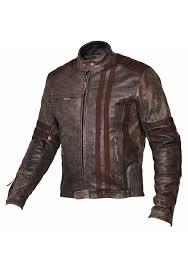 men s biker vintage motorcycle cafe racer style distressed leather jacket