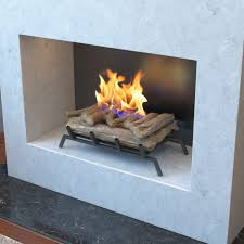 24 inch convert to ethanol fireplace log set with burner insert from pertaining to magnificent ethanol