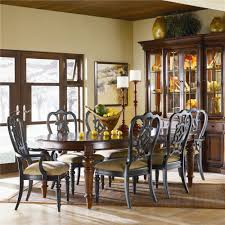 Thomasville Living Room Sets Thomasvillear Fredericksburg Oval Dining Table With Two 20 Leaves