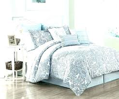 french country toile comforter blue duvet cover king sets white royal velvet paisley print set for
