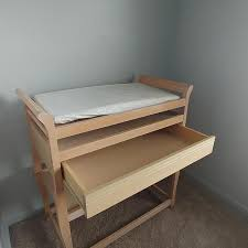 Light wood changing table Best Wood Changing Table for sale in Lancaster, Pennsylvania