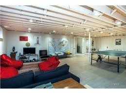 painted basement ceiling. Exposed Basement Ceiling Ideas Painted Best Regarding White Remodel