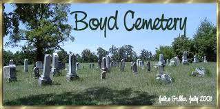 Boyd Cemetery Christian County, KY