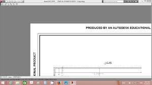 autocad autocad tutorials educational plot stamp removal issue you