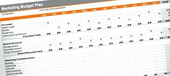 Marketing Planner Excel Marketing Plan Excel Template Sample Marketing Planning And