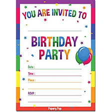 Kids Birthday Party Invite Under Fontanacountryinn Com