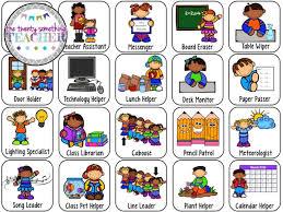 49 Punctilious Clip Art For Preschool Job Chart