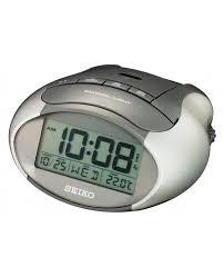 seiko lcd calendar thermometer temperature beep snooze alarm clock qhl023 thumbnail 2