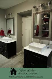 bathroom remodel black vanity. Unique Bathroom Master Bathroom With Separate Vanities And Vessel Sinks Farmhouse Style Black  Throughout Bathroom Remodel Black Vanity