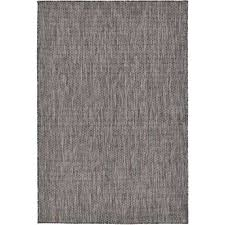 black and white outdoor rug outdoor solid black 4 0 x 6 0 area rug black black and white outdoor rug