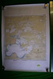 Ontario Nautical Charts Details About Ontario Canada Lake Of The Woods 33x46 5 Vintage 1991 Nautical Chart Map
