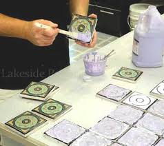 glazing tiles custom work making ceramic tiles