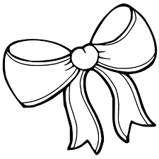 Hair Bow Coloring Pages - GetColoringPages.com