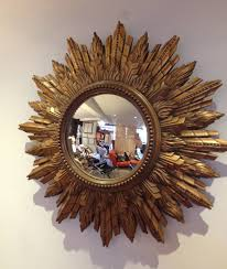 gold starburst mirror starburst mirrors for walls sunflower mirror