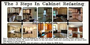 diy refacing kitchen cabinets ideas the steps in cabinet step