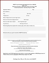 scholarship templates application for scholarship template cover templates modified semi