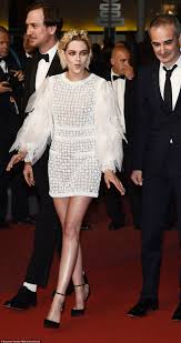 the belle of cannes kristen stewart was back on the palais des festivals red carpet