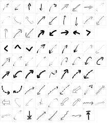 Web Design Arrows Peax Webdesign Arrows Font Download