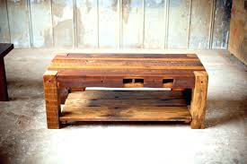 reclaimed wood furniture coffee table tables south with storage
