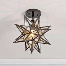 moravian star light fixture flush mount best moravian star light fixture all home decorations