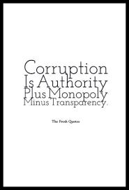Anti Corruption Slogans And Corruption Quotes TheFreshQuotes Beauteous Corruption Quotes