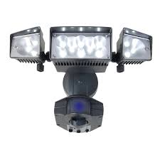 led security lights types and s of utilitech security lighting square shape three piece spin able