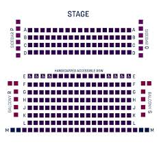 Myth Live Seating Chart