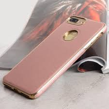 iphone 7 plus rose gold. olixar makamae leather-style iphone 7 plus case - rose gold iphone