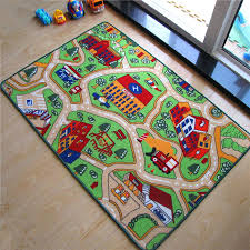 new arrival car racing road baby play mats developing crawling rug carpet educational toys kids