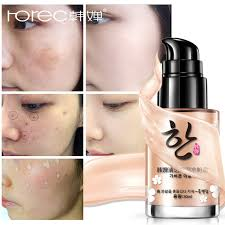 rorec isolation cream foundation base face primer makeup waterproof oil free moisturizer brighten invisible pores