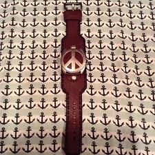 lucky brand watch mens lucky brand leather watch