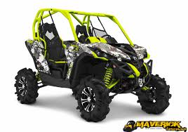 2015 can am model lineup what s new can am atv forum the stellar and unmatched can am maverick 1000r x mr is offered in two colors its standard painted black and yellow x team finish or the hypnotizing