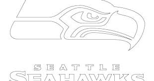 Seattle Seahawk Coloring Pages Logo Coloring Pages Sports Seattle