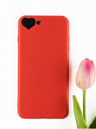 heart diy phone case for iphone red for iphone 7 plus 8 plus