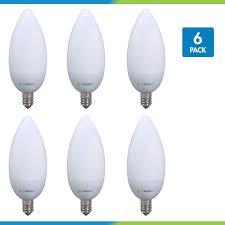 40 watt equivalent chandelier led light bulb e12 small base dimmable pack of 6 viribright led light bulbs