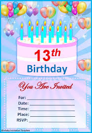 Word Template For Birthday Invitation Birthday Invitation Cards Templates Word