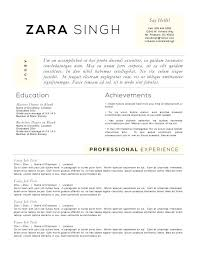 accomplishment resume resume templates to highlight your accomplishments  major accomplishment resume samples