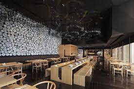 Modern Restaurant Interior Minimalist Design with Wall Decoration Ideas