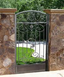 Small Picture Interesting Garden Gate Ideas Wonderful Iron T Inside